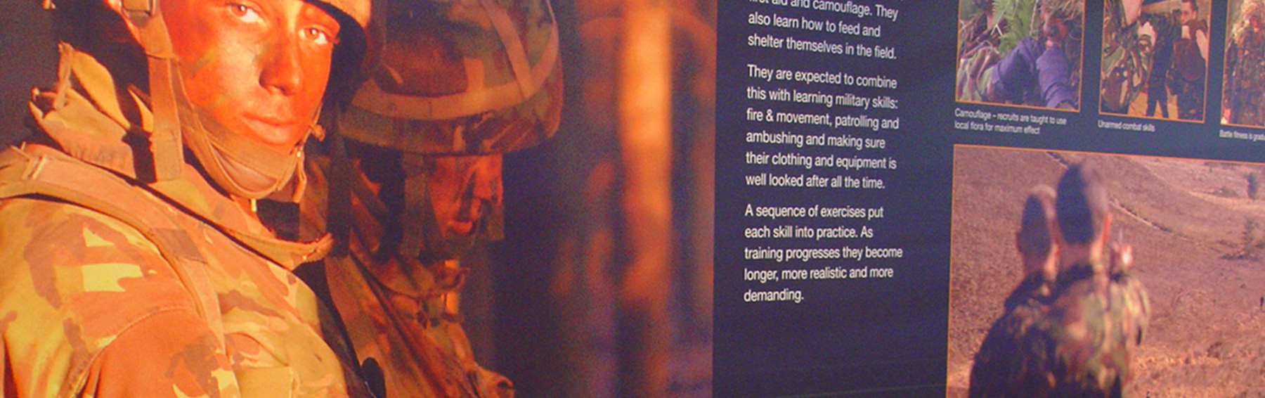 The Royal Marines Museum creative interpretation